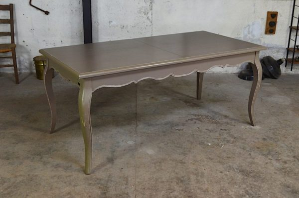 Table Emily design shabby chic style Louis XV
