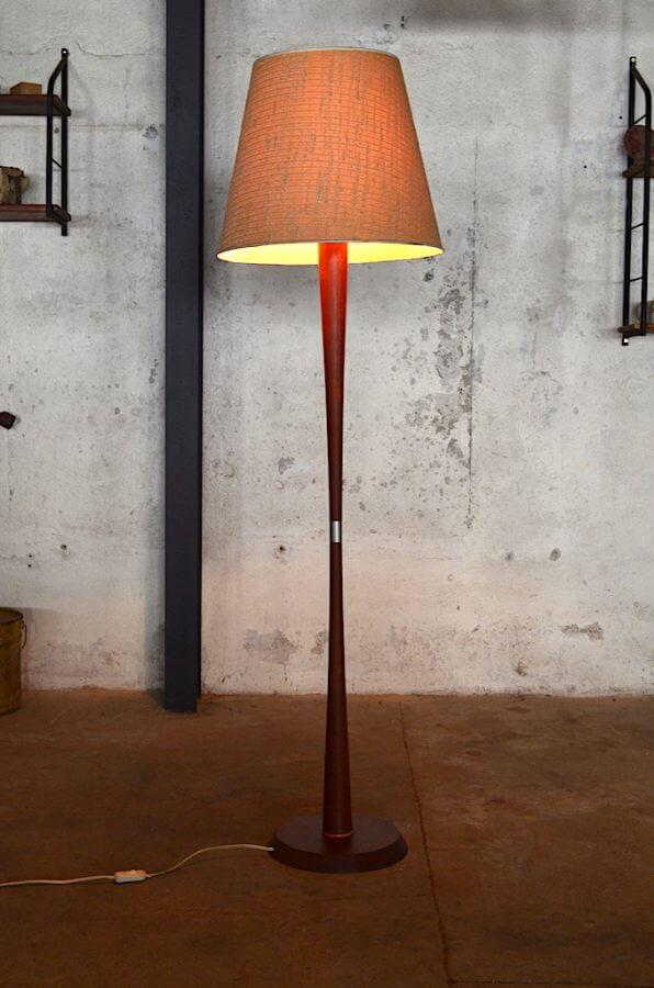 lampadaire scandinave gustav ann e 1960. Black Bedroom Furniture Sets. Home Design Ideas