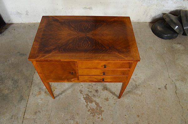 meuble vintage noyer deco