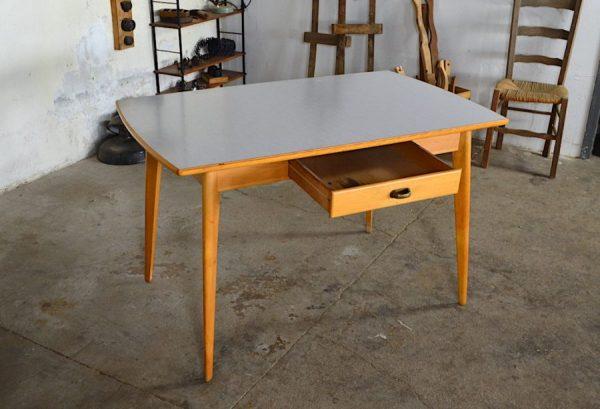 Table formica Odette vintage & pieds compas