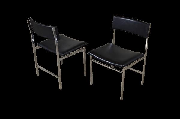 Chaise métal Isa design vintage et industriel