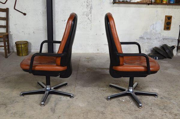 Fauteuil de bureau Jacques design vintage