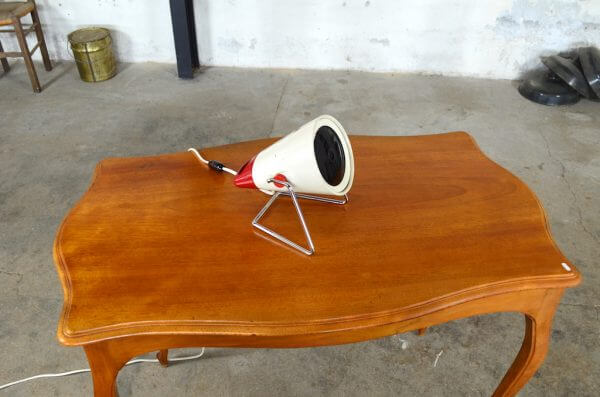 Lampe de table Philips design vintage 1960