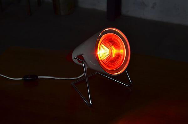 Lampe de table Philips design vintage 1960