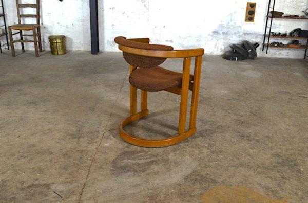 Fauteuil vintage Gaston année 1950 design rétro