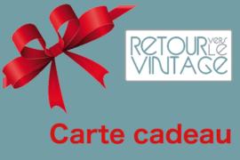 Carte cadeau RVV