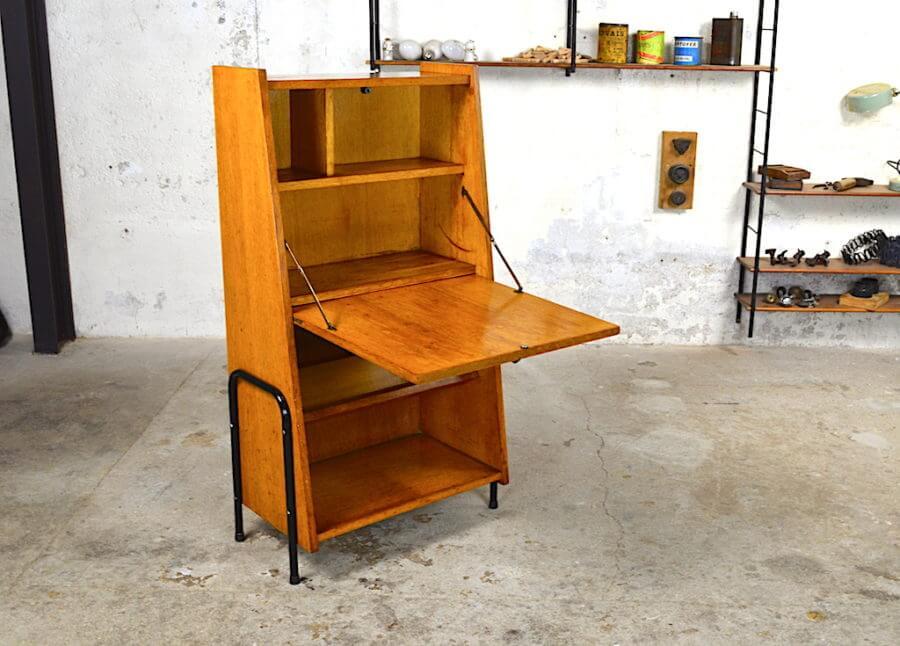secr taire vintage ren jean des ann es 50. Black Bedroom Furniture Sets. Home Design Ideas