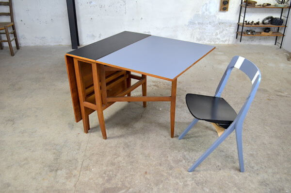 table et chaise 1960