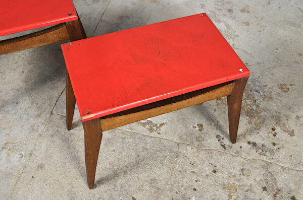 duo de tables vintage