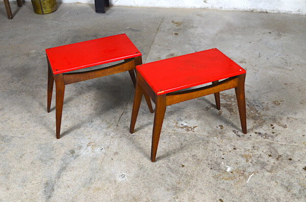 duo de tables 1950