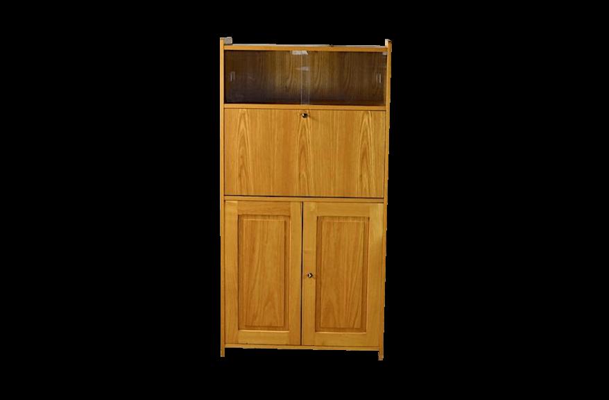 meuble secr taire franck vintage 1980. Black Bedroom Furniture Sets. Home Design Ideas