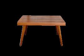table vintage 1950 chêne