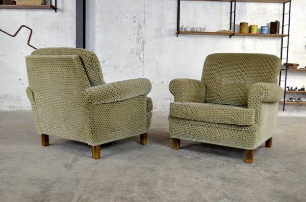 Paire de fauteuils Bernard Vintage 1970
