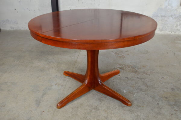 Table design scandinave vintage 1970