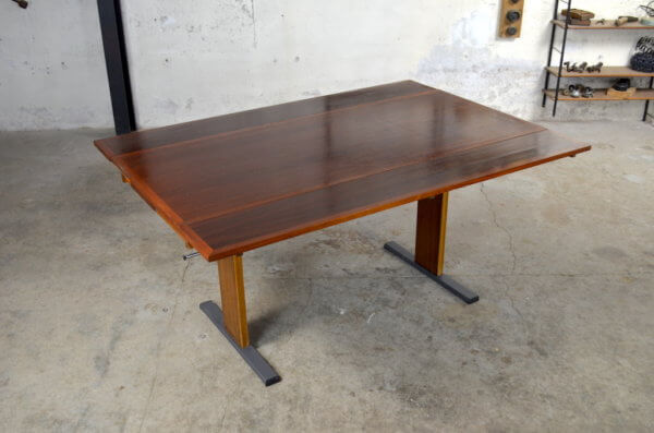 Table vintage transformable 1960