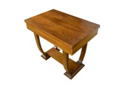 Table Art-Déco en Noyer 1930