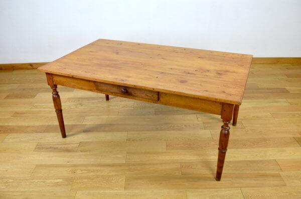 table de ferme vintage mobilier rustique campagnard