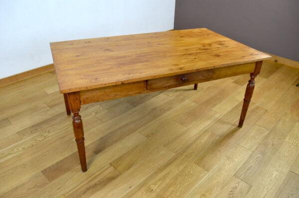 Table de Ferme Vintage, Mobilier de repas rustique campagnard